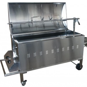 Pig Oven with Spit